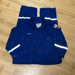 Walls FR Fire Resistant Workwear Coveralls 52 REG